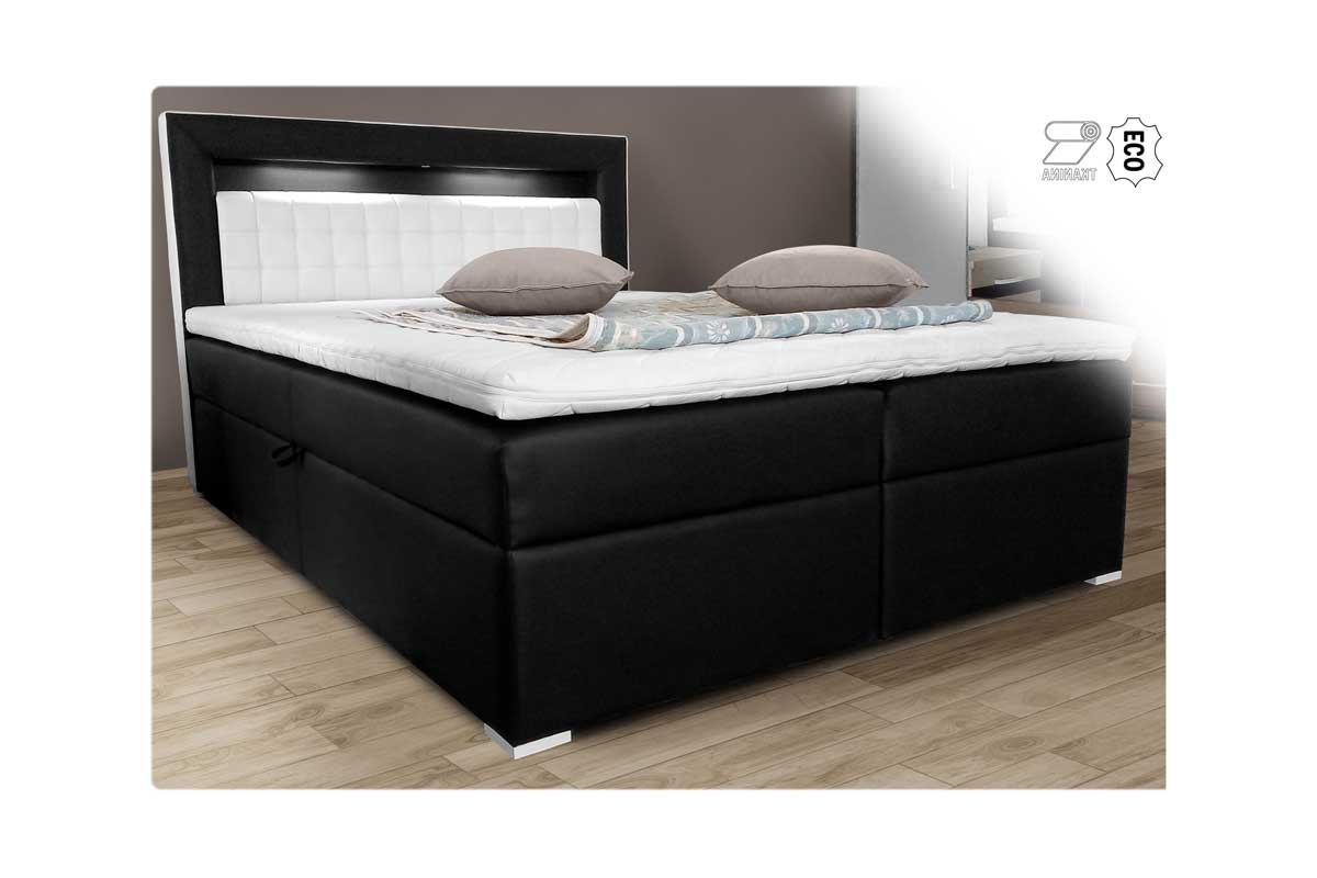 Łóżko tapicerowane Orlando