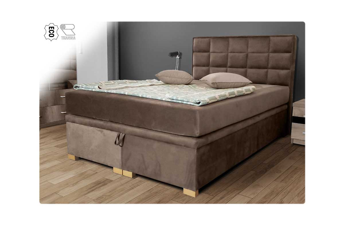 Łóżko tapicerowane Vegas