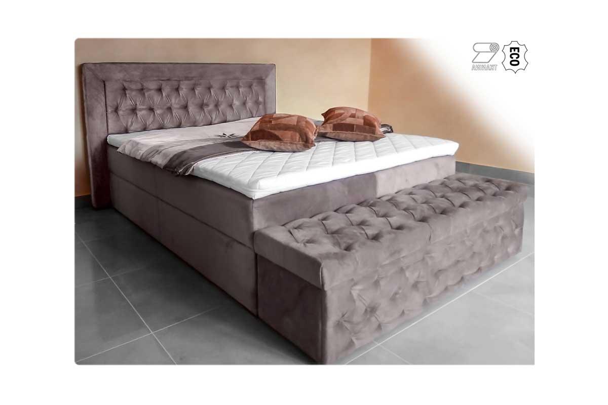 Łóżko tapicerowane Verdi