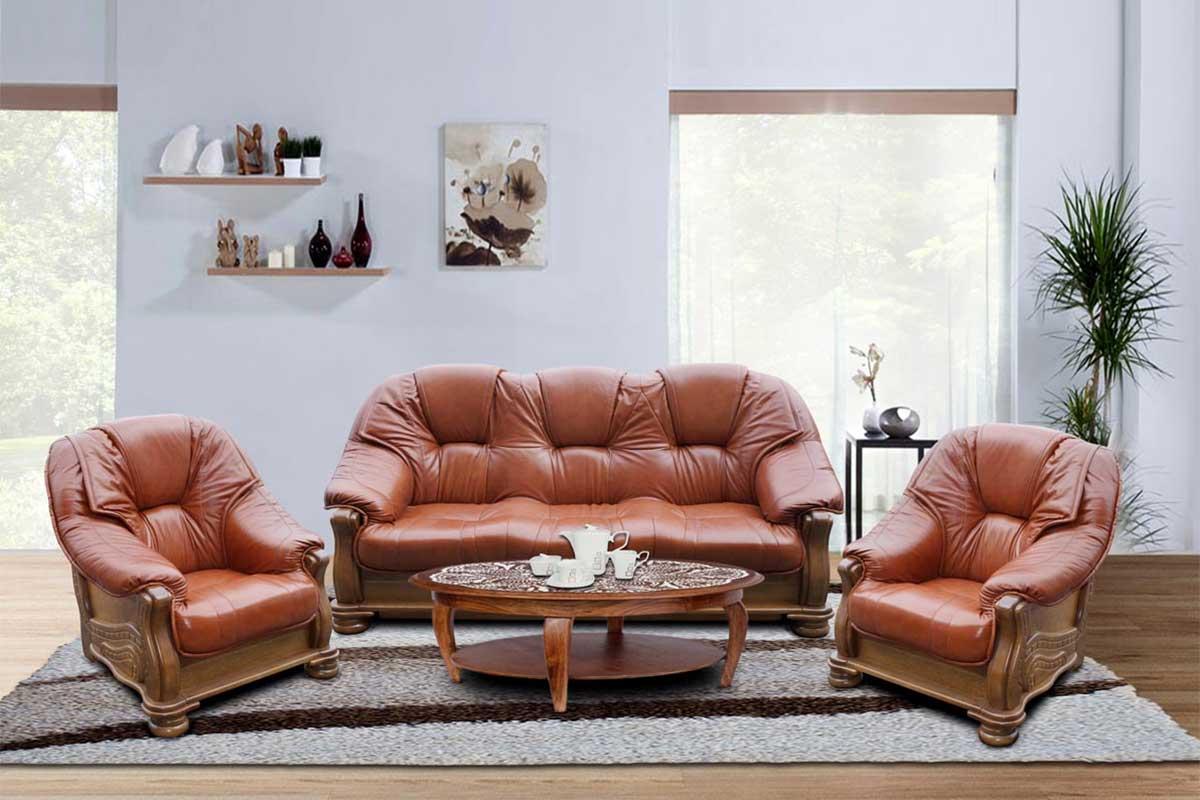 Sofa + dwa fotele Senator