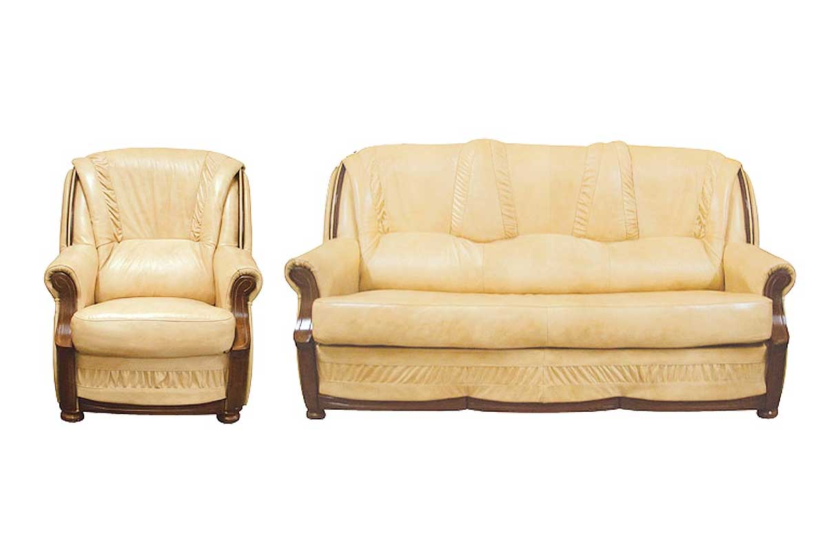 Sofa + dwa fotele Wiktor