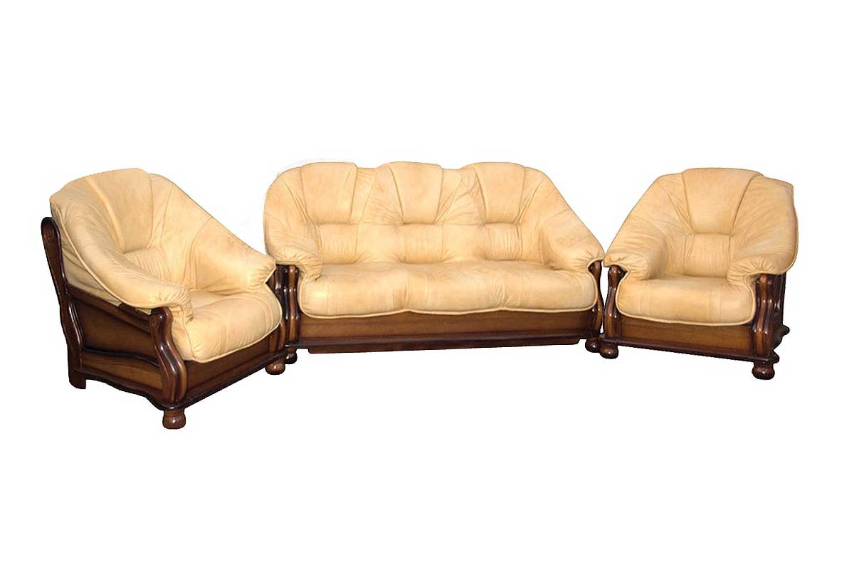 Sofa + dwa fotele Lord