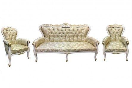 Sofa + dwa fotele Barok II