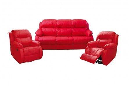 Sofa + 2 Fotele Relax